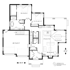 Ranch Floor Plans With Walkout Basement Transitional Home Design Drummond House Plans Photos Decor Luxihome