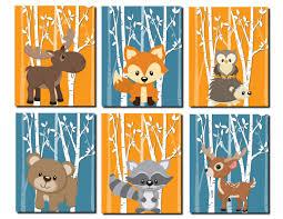 Woodland Animal Nursery Decor by 293 Best Nursery Art For The Boys Images On Pinterest Nursery
