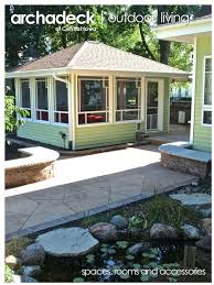 landscaping an outdoor living space patios porches sunrooms