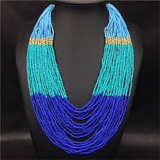 multi layered beaded necklace images Multi layer african necklace african shop jpg