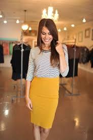 striped pencil skirt dress ala mustard pencil skirt pencil skirts