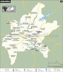 city map of brazil goiania map city map of goiania brazil
