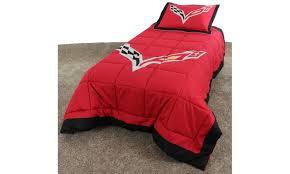 Corvette Bed Set Corvette Sized 2 Pc Comforter Set Groupon