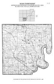 Canton Ohio Map by 1855 Map Of Butler County Butler County Historical Society