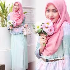 tutorial hijab syar i untuk pengantin kreasi tutorial hijab segi empat simple ala dian pelangi jilbab