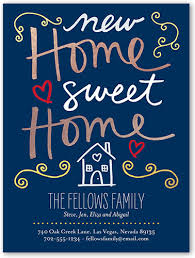 new home sweet home 4x5 card moving announcements shutterfly