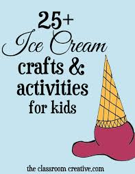 ice cream craft and activity ideas