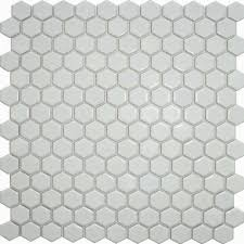 Mosaic Bathroom Floor Tile by Matt White Hexagon Tiles Toto Hexagon Mosaic Mosaic Tiles