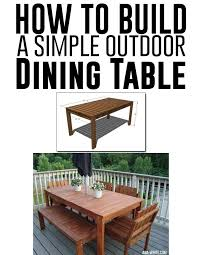 Build Your Own Round Wood Picnic Table by Best 25 Build A Picnic Table Ideas On Pinterest Diy Picnic