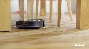 Roomba On Laminate Floors Irobot Roomba 980 Vacuum Cleaning Robot On Vimeo