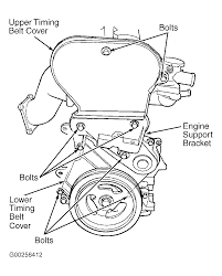 2001 chrysler sebring serpentine belt routing and timing belt diagrams