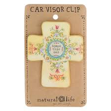 gold glitter car natural life glitter and gold visor clip bless this car car