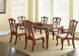 used dining room set dining room seating for back oak metal owner used traditional