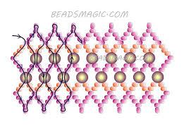 bracelet beads pattern images 309 best beadsmagic bracelets images beaded jewelry jpg