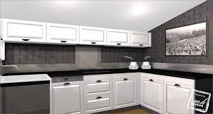 photo deco cuisine cuisine noir et grise wekillodors com laqu e avec photo