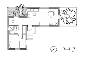 Treehouse Floor Plan by Architecture Wooden House Architecture With Natural Theme