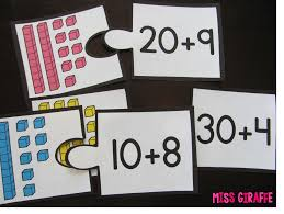 expanded form puzzles and other great place value centers i
