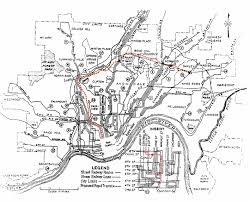 Mason Ohio Map old cincinnati subway plan map 1920s never built transit