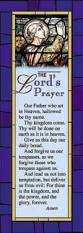 the lord u0027s prayer bookmark pkg of 25 abingdon press