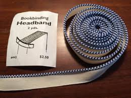 book headband handmade journal step by step the carolingian realm