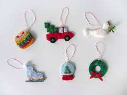 mini advent ornaments set three imagine our life