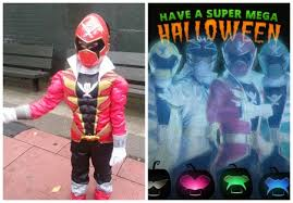 Power Ranger Halloween Costume Power Rangers Super Megaforce Halloween Costumes Safety Tips
