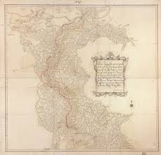 Parana River Map Topographical Map That Includes The Tributary Of The Ycabaqua