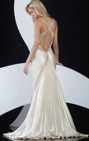 jasz elegant low back prom dress with pleated train 4599 french