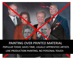 they never paint over a print