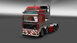 old volvo trucks volvo f10 8x4 pba v final ets2 euro truck simulator 2 mods