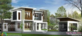contemporary house design by 3d view architects kerala home