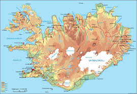 iceland map map of iceland travel guide to iceland gj travel