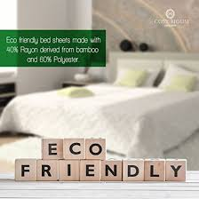 premium bamboo bed sheets queen size u2013 cosy house collection