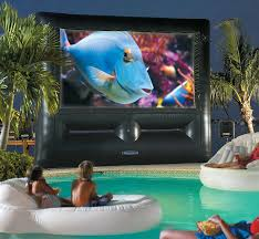 Backyard Theater Ideas Superscreen Outdoor Theater System Ultimate Home