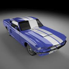 1994 shelby mustang 1994 shelby mustang 3d models turbosquid