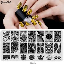 popular stamped nail art buy cheap stamped nail art lots from