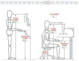 Optimal Desk Height Normal Desk Height For 5ft 10 Inches Tall