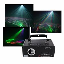 aucd 5 in 1 rgb 3d network laser program source dmx projector