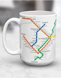 Montreal Metro Map Cups Boutique Stm