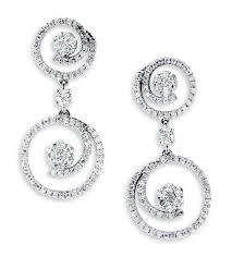dangle diamond earrings 18k white gold dangle earrings diamond earrings earrings