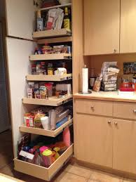 simple kitchen design ideas with full extension roll out food