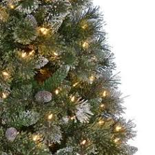 Home Depot Christmas Tree Lights - 7 5 ft pre lit sparkling pine christmas tree with multi color