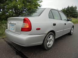 2002 hyundai accent sedan 2002 hyundai accent gl 4dr sedan in shafer mn autogardens