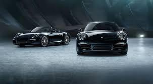 Porsche Boxster Black Edition - porsche 911 u0026 boxster black edition xy le magazine des