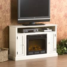 holly and martin savannah media electric fireplace antique white