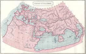 Greece On World Map Ptolemy World Map World U2022 Mappery