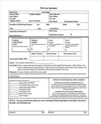 sample loan contract templates construction loan contract