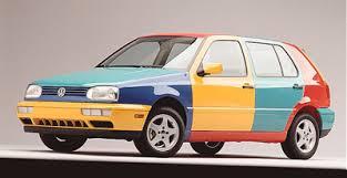 volkswagen golf harlequin vw u0027s strangest idea the truth about cars