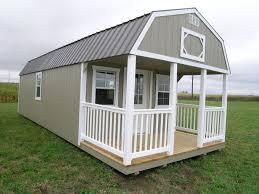 amish built portable garage shed cabin barn tiny house no credit