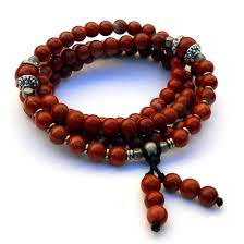 red prayer bead bracelet images Grounding 108 bead mala red jasper wrap bracelet or necklace jpg